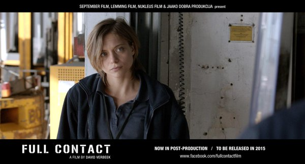 "Lizzy Brocheré stars for ""Full Contact"""