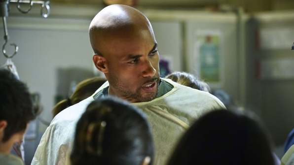 "Boris Kodjoe returns for ""Code Black"""